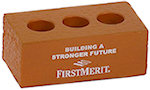 Brick with Holes Stress Balls